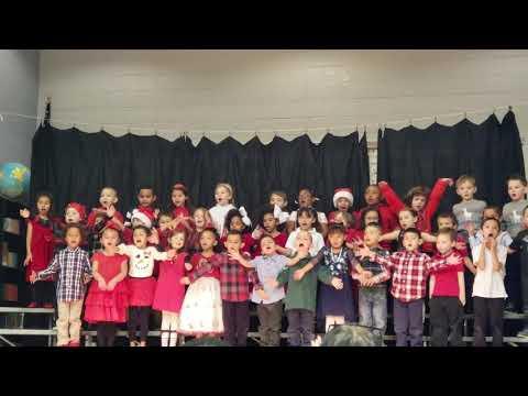 Christmas lights pikes peak elementary school (kindergarten)