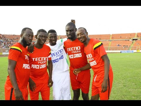 kumawood actor vrs vodafone Ghana football match