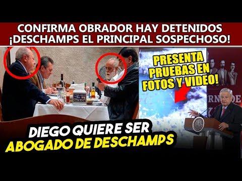 Jefe Diego sale a defender a Deschamps, Obrador ya tiene det