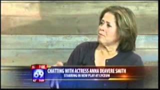 LET ME DOWN EASY ANNA DEAVERE SMITH KSWB TV 4/28/11 9am