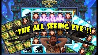 Raven's Eye, new Thunderkick slot Great win!!!