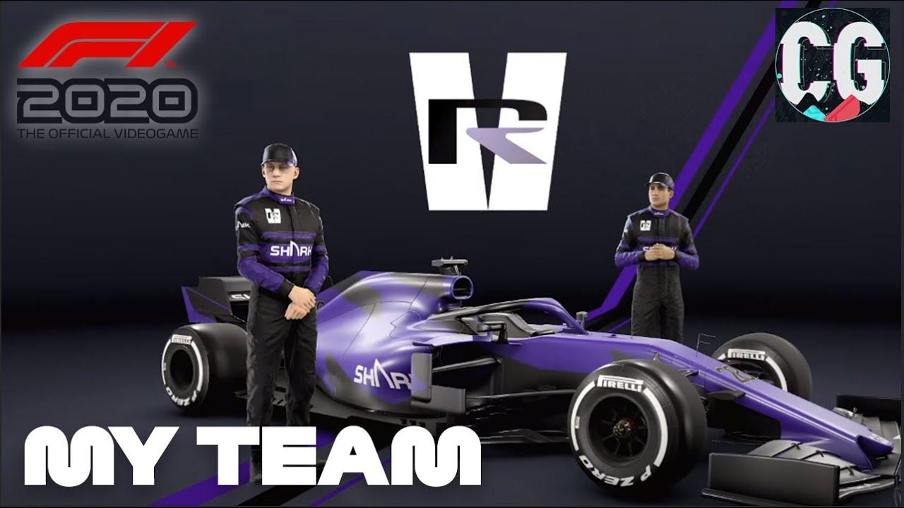 how to start an f1 team
