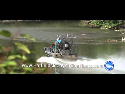 Hatfield McCoy Airboat Tours, Matewan WV