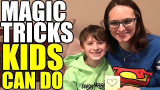 Magic Tricks KIDS CAN DO!