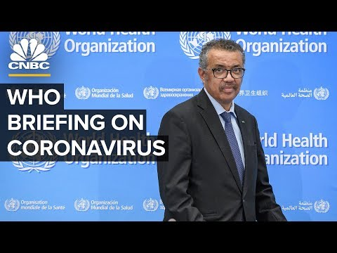 World Health Organization Holds News Conference On The Coronavirus Outbreak – 3/3/2020