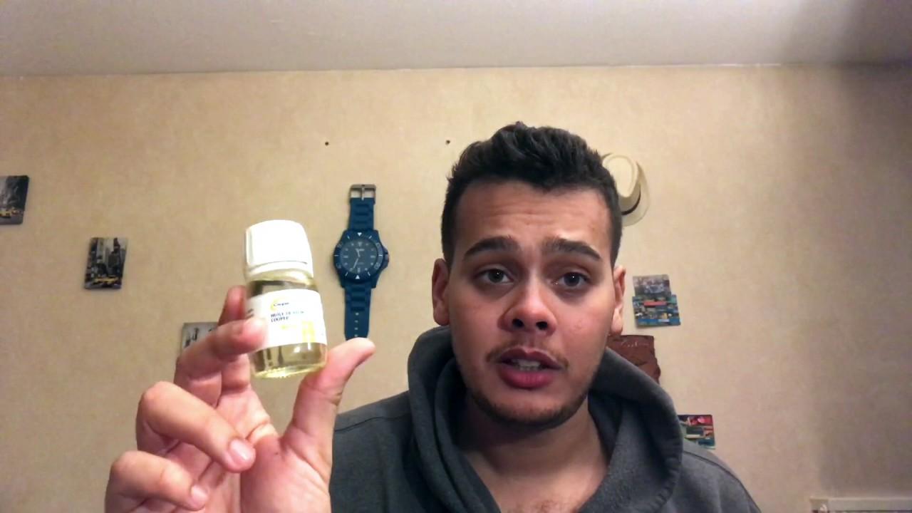 test de l 39 huile de ri in barbe avant apr s test du produit youtube