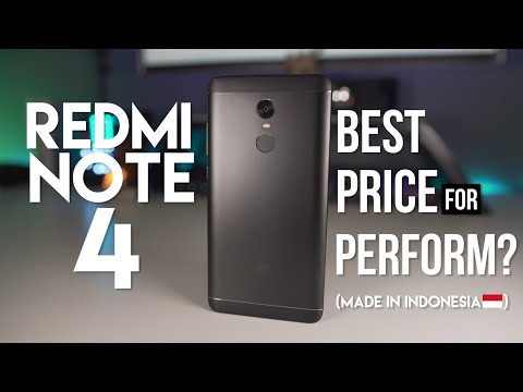 FIRST PHONE REVIEW!! Xiaomi REDMI NOTE 4 Indonesia!