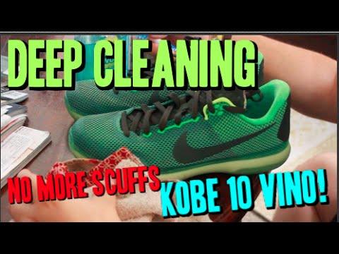 Nike Kobe 10 Vino! Cleaning & Removing Scuffs