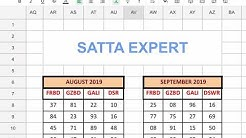 SATTA EXPERT Satta pattern in advance. 07-09-2019