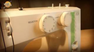 Véro vous montre comment coudre deux pans de tissu extensibles ensembles avec une machine à coudre, et sans sur-jeteuse !