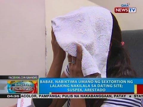 Babae, nabiktima umano ng sextortion ng lalaking nakilala sa dating site; suspek, arestado