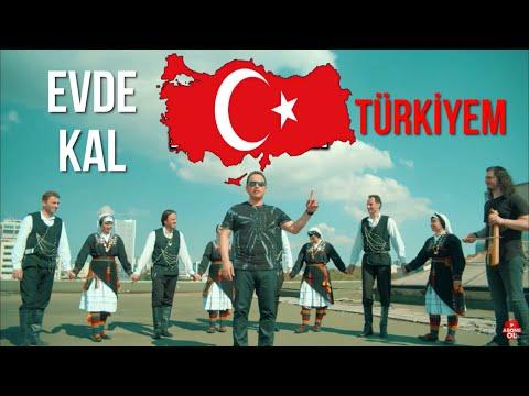 Türkiyem Evinde Kal Corana Virüsü Şarkısı