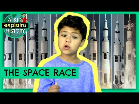 THE SPACE RACE - A Kid Explains History, Episode 4