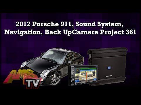 2012 Porsche 911, Sound System, Navigation, Back UpCamera Project 361