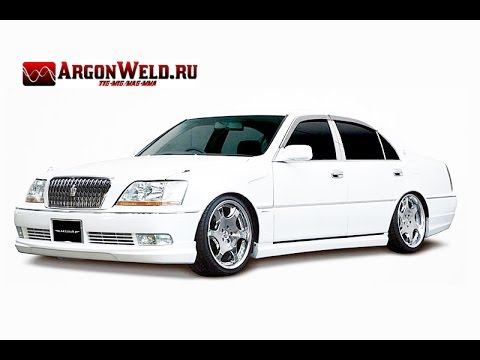 звук выхлопа Toyota Crown Majesta 1uz-fe