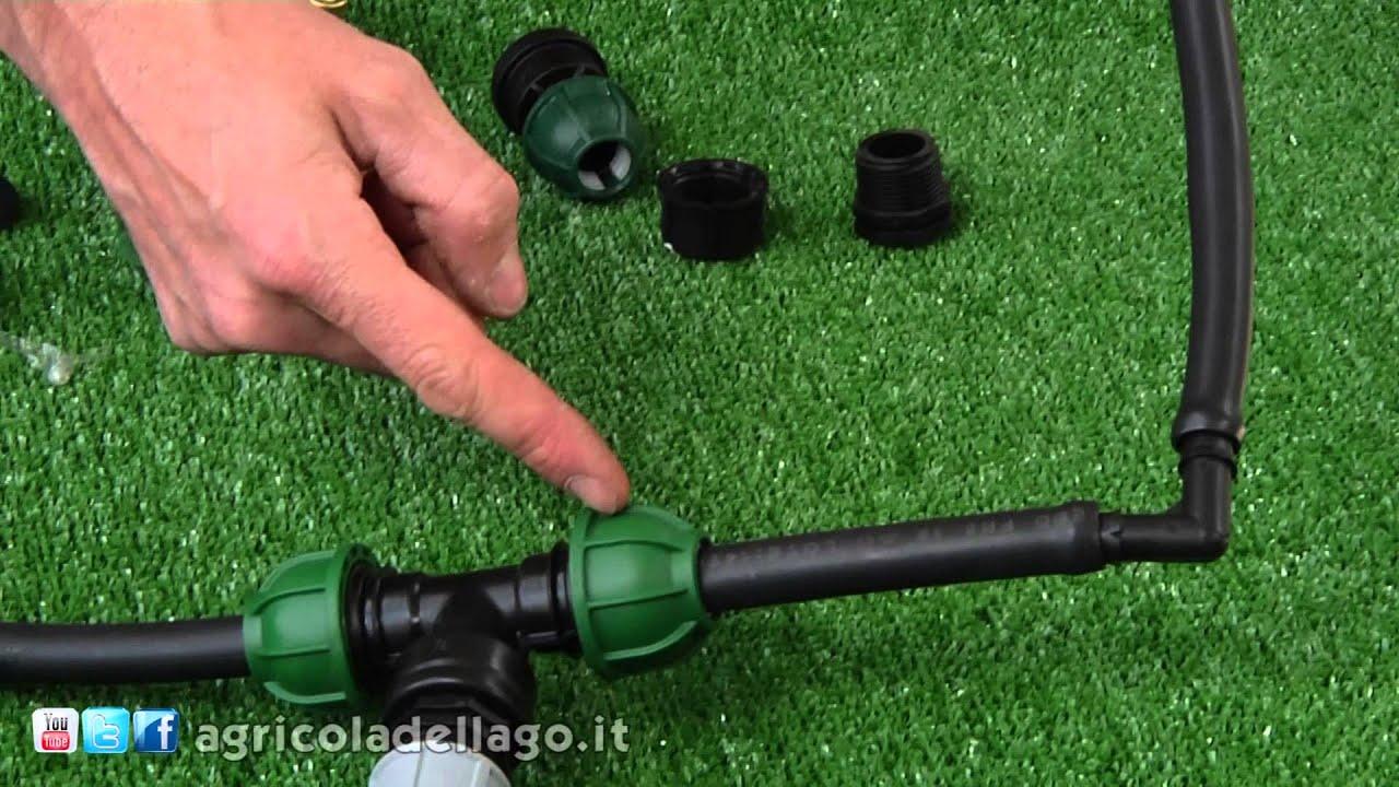 la progettazione dell'impianto di irrigazione: l'orto - youtube - Progettare Irrigazione Giardino