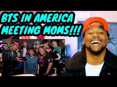 BTS Surprises Super Fans & Their Moms on Kimmel | REACTION!!!