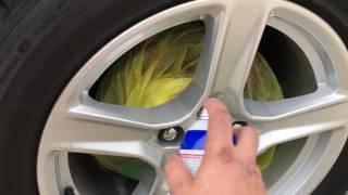 2016 Camaro V6 Plastidipping Badges and Wheels Step 3 (Wheels)
