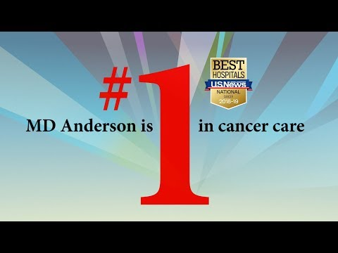 MD Anderson Ranked No. 1 For Cancer Care In Annual