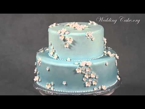 blue-wedding-cakes- -modern-wedding-cakes- -dainty-petals