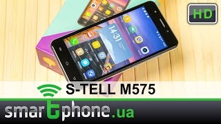 S-TELL M575 - Обзор смартфона