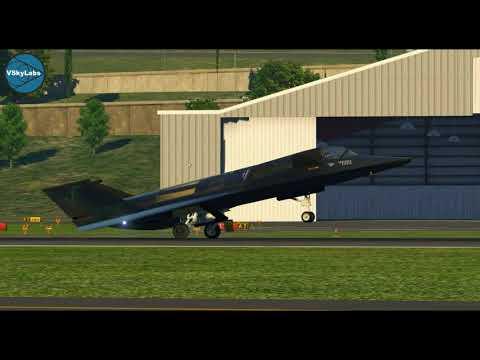 VSKYLABS F-19 Stealth Fighter RAW footage *** UNDER DEVELOPMENT ***