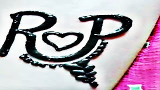 R P letter Status Video Whatsapp P R Love Status Video Whatsapp