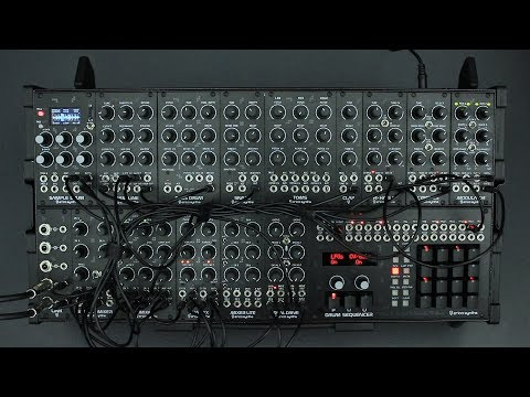 Erica Synths Techno System demo (TAKE 2)