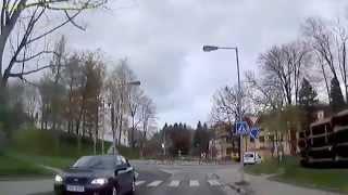CZ: Aš (Asch). Karlovarský kraj. Große Stadtrundfahrt. April 2014