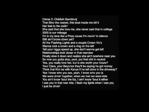 Logic - Driving Ms. Daisy ft. Childish Gambino HD [Lyrics]