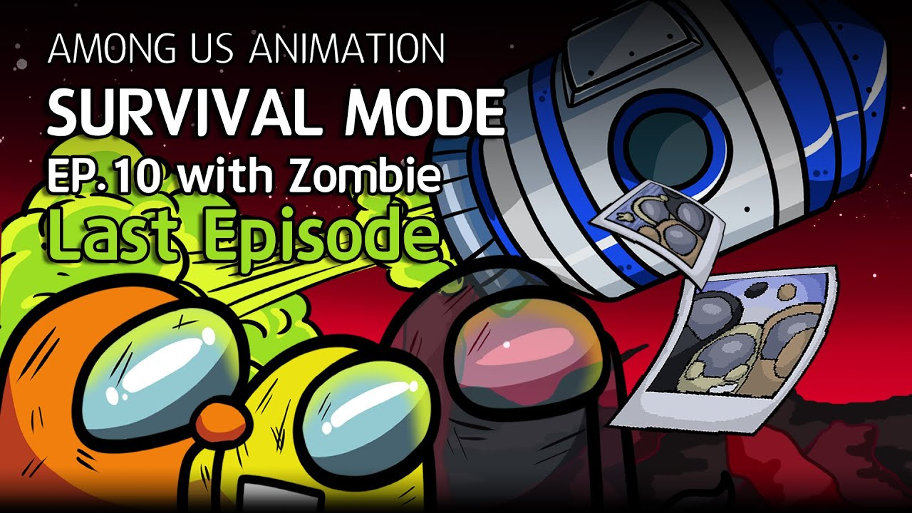 어몽어스 좀비 생존게임모드 EP10 애니메이션 | Among us animation Survival mode EP10 with zombie