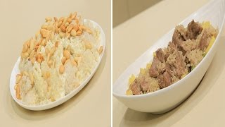 ارز بالجبنة الكريمية - تورتة البرقوق - لحمة بالبسلة و البطاطس | اتفضلوا عندنا حلقة كاملة