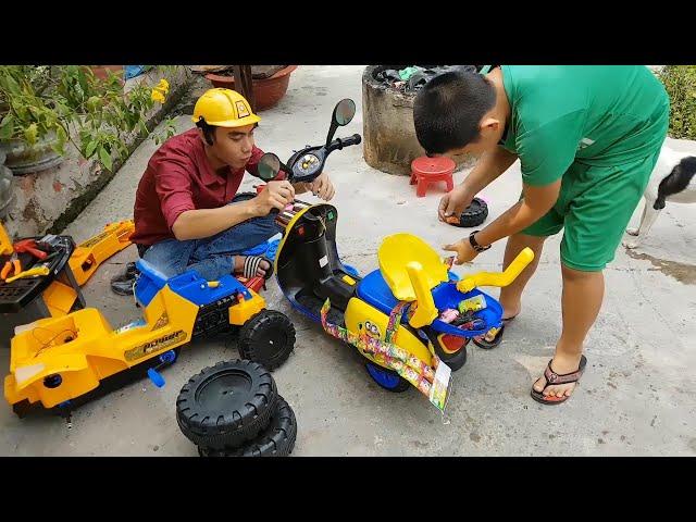 Minions Trong Sân Chơi - Trò Chơi Bạn Ken và Xe ❤ ChiChi ToysReview TV ❤ Đồ Chơi Doli Fun Song