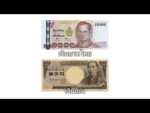 อัตราแลกเงินไทยกับเงินญี่ปุ่น