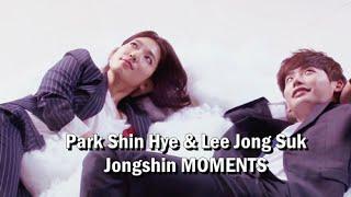 Park Shin Hye and Lee Jong Suk (Jongshin moments ♥)