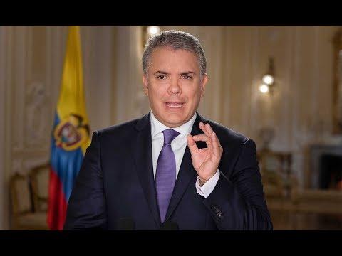 Alocución del Señor Presidente de la República Iván Duque Márquez - 10 de marzo de 2019