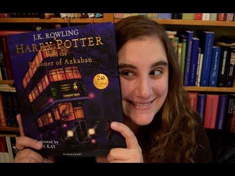 Rascheltalk Harry Potter Iii Illustrierte Ausgabe Youtube