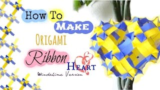 Paper/Ribbon Heart Origami Tutorial