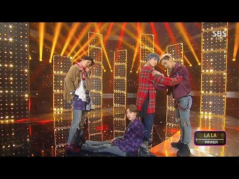 WINNER - 'LA LA' 0408 SBS Inkigayo