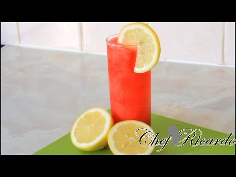 Non Alcoholic Strawberry Daiquiri | Recipes By Chef Ricardo