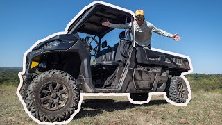 My NEW UTV Deer Hunting Truck  Off Road Test Ride &amp Tour