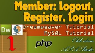 Membuat Login, Logout, Register - Member Area
