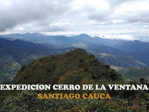 """expediciÓn-""""cerro-de-la-ventana""""-santiago-cauca."""