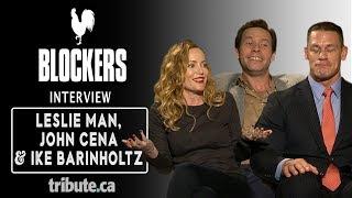 Leslie Mann, John Cena & Ike Barinholtz - Blockers Interview