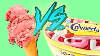 GELATO - Artigianale vs. Supermercato