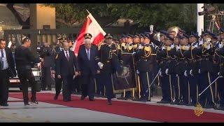 عباس في لبنان