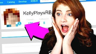 MAKING MY SISTER A ROBLOX ACCOUNT!!