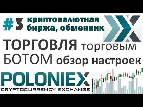 Торговля крипто-валютой при помощи CLOUDBOT 2.2. Обзор настроек.