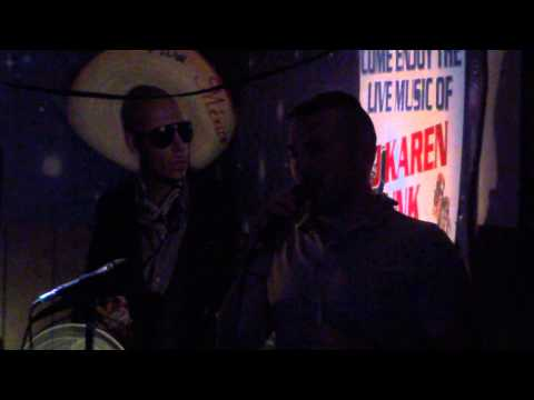 Royal Air Force Helicopter Technicians sing Karaoke in Ajo, Arizona, 00007