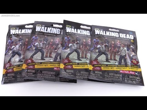 McFarlane The Walking Dead series 2 figure blind bag openings